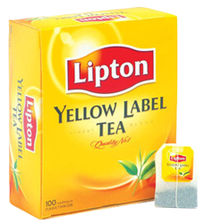 "Чай ""Lipton Yellow Label"" 100 пакетиков"